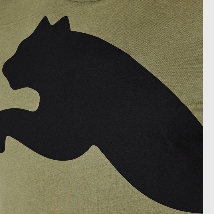 Футболка Puma Huge Cat QT Mens Olivine