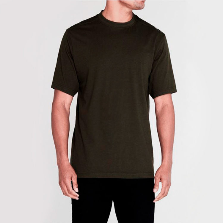 Футболка Donnay Cottonix Mens Khaki