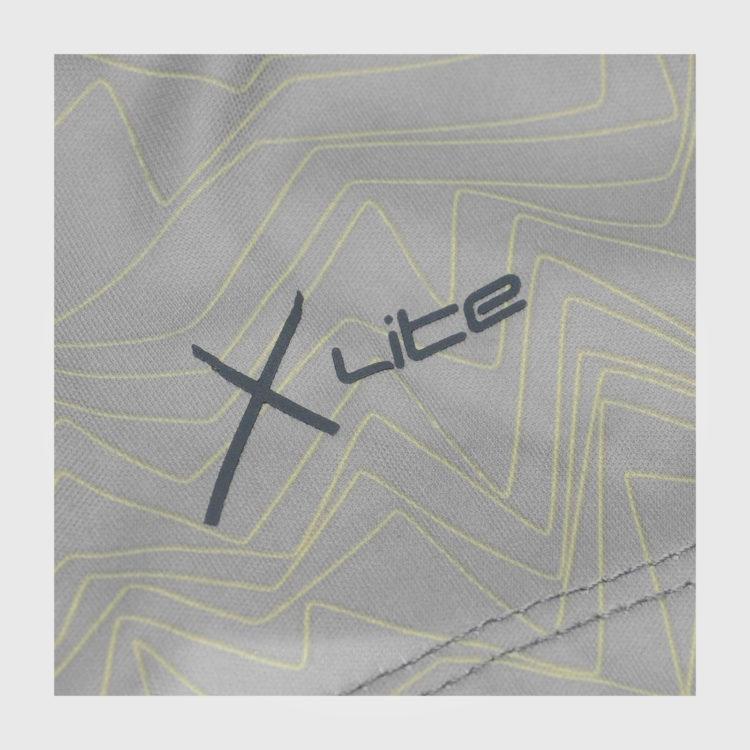 Футболка Karrimor X Lite Race Mens Grey Print