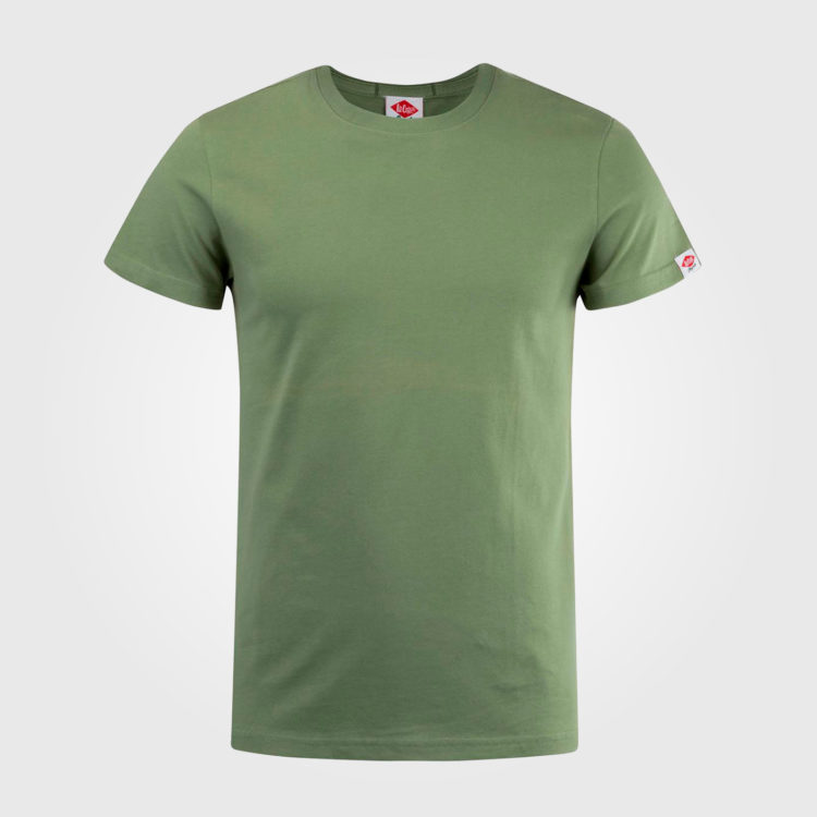 Футболка Lee Cooper Plain Mens Green
