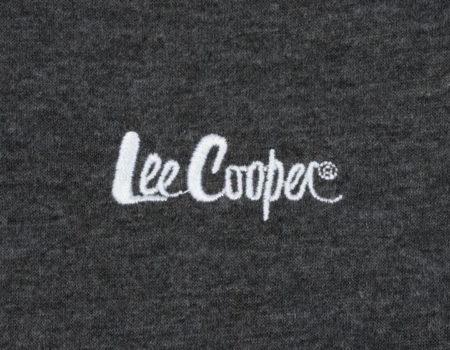 Футболка Lee Cooper V Neck Mens Charcoal