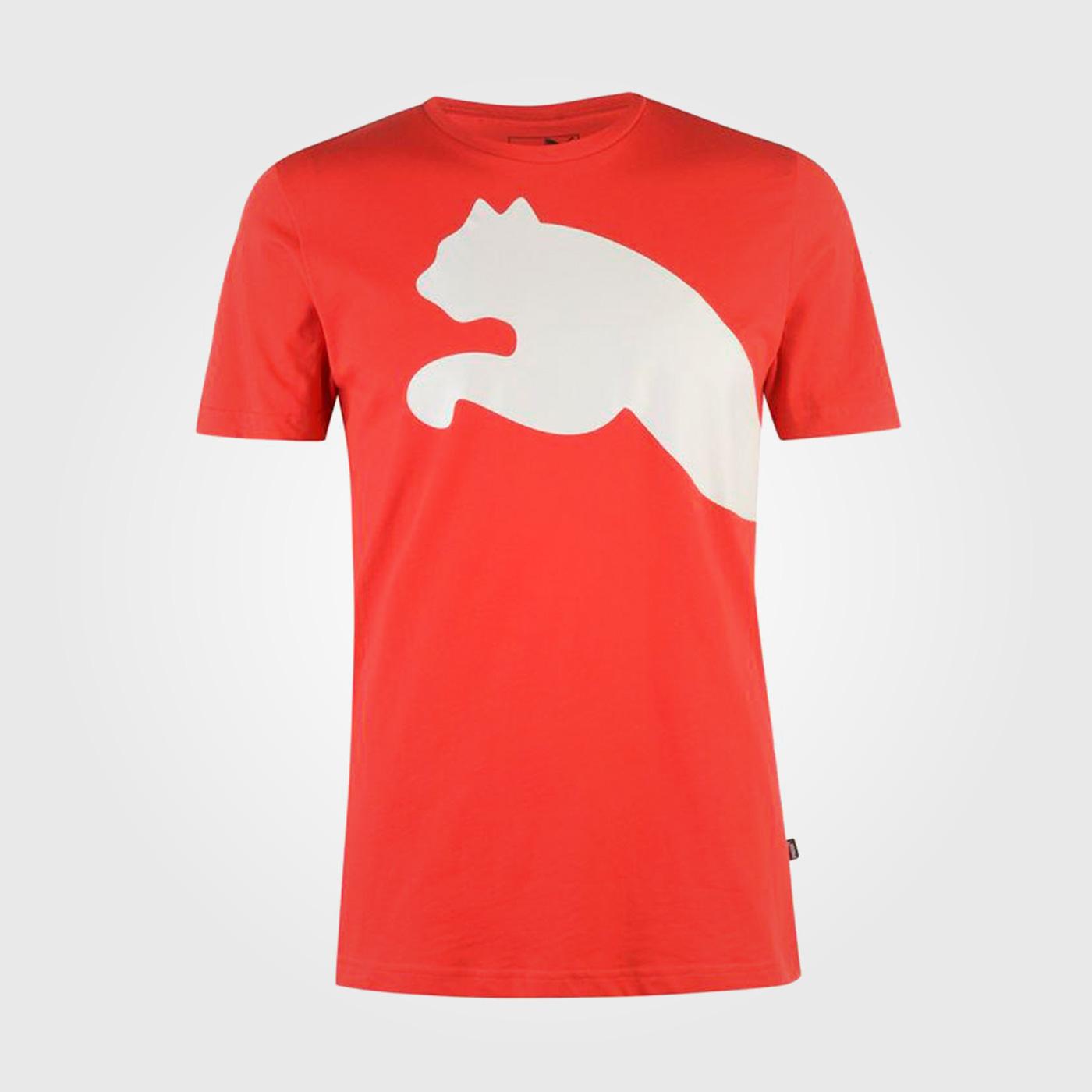 Футболка Puma Huge Cat QT Mens Red White