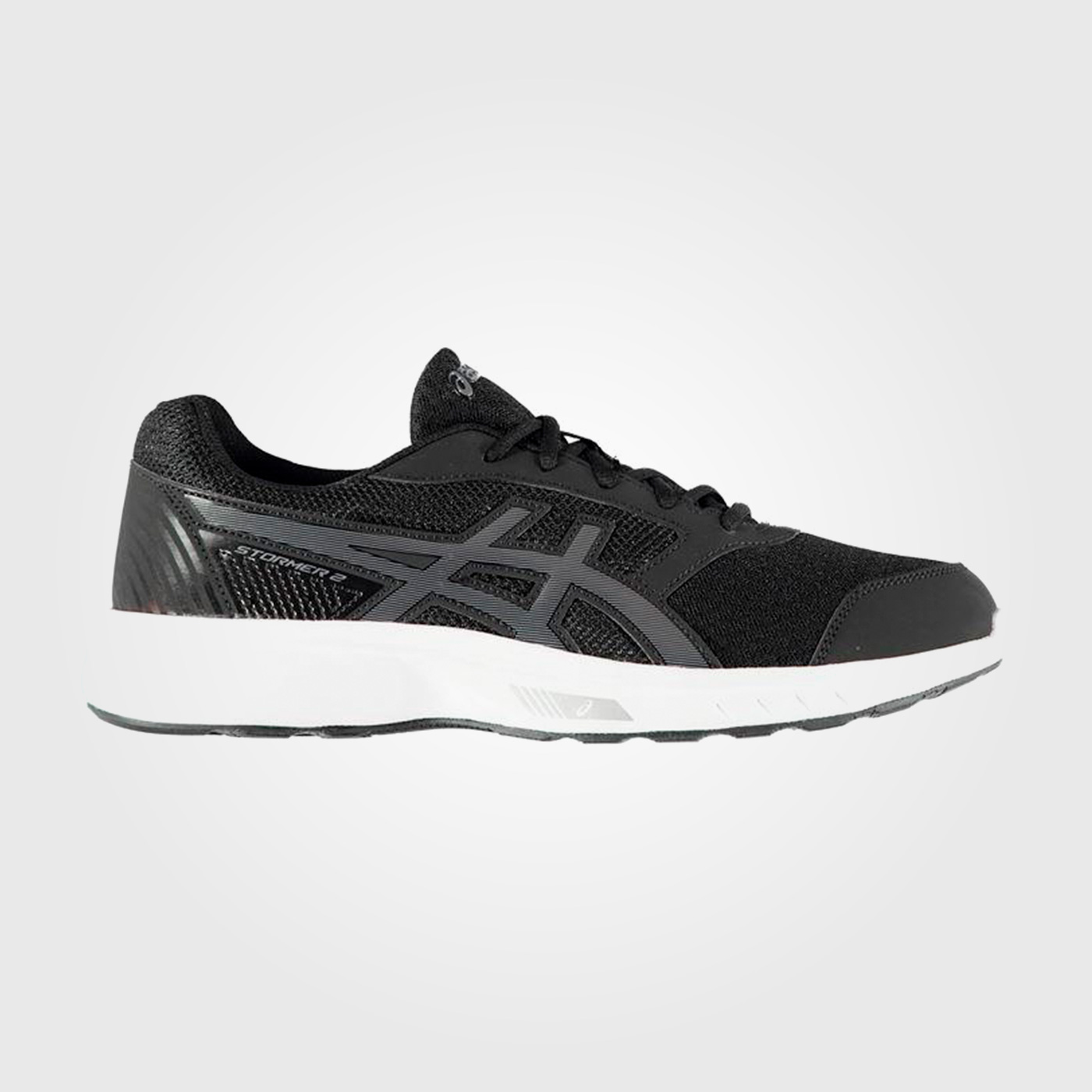 Кроссовки Asics Gel Stormer 2 Running Mens Black White