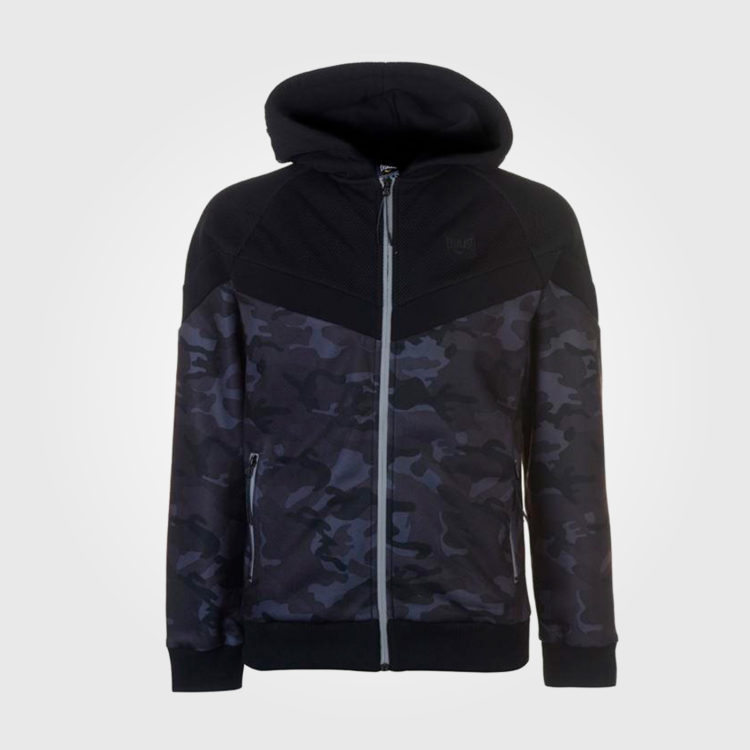 Толстовка Everlast Premium Zipped Mens Camoflage