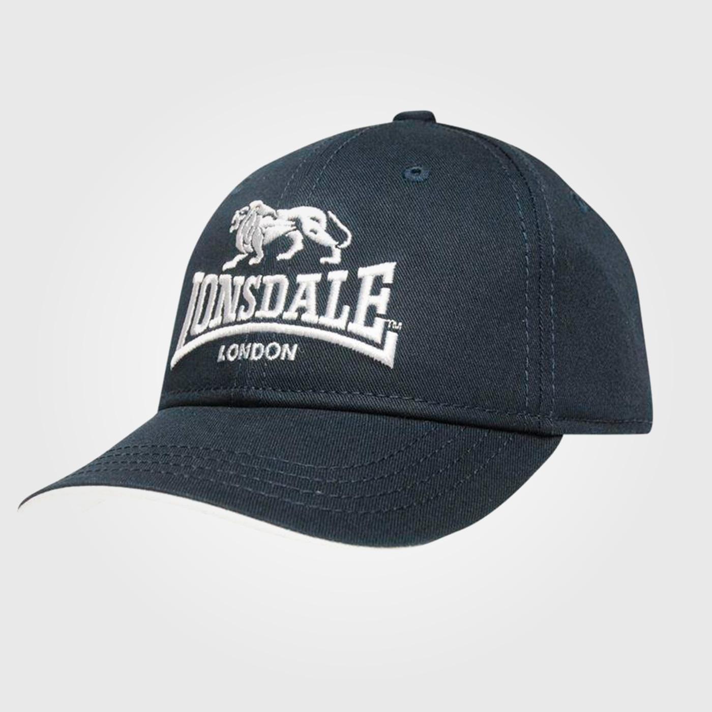 Бейсболка Lonsdale TT Cap Infant Blue