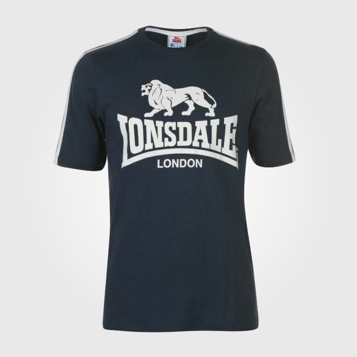 Футболка Lonsdale Large Logo T Shirt Mens Navy