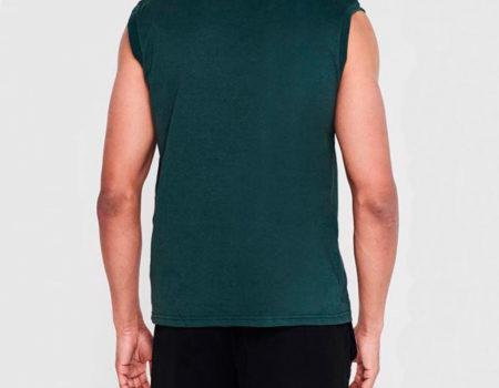 Футболка Lonsdale Sleeveless T Shirt Mens Jasper Green