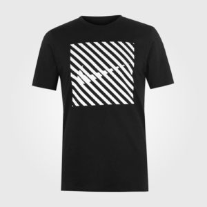 Футболка Nike Swoosh Thru Graphic Mens Black