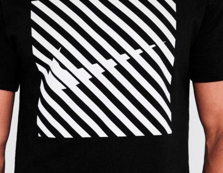 Футболка Nike Swoosh Thru Graphic Mens Black