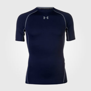 Футболка Under Armour Heatgear Core T Shirt Mens Navy