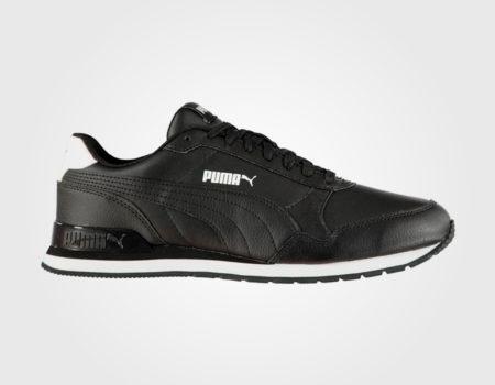 Кроссовки Puma ST Runner V2 Mens Trainers Black/Black