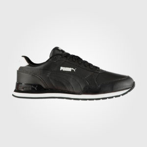 Кроссовки Puma ST Runner V2 Mens Trainers Black/Black