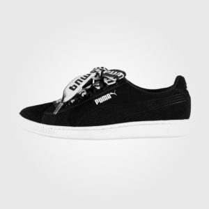 Кроссовки Puma Vikky Ribbon Trainers Ladies Black