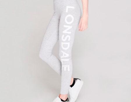 Леггинсы женские Lonsdale Grey Marl