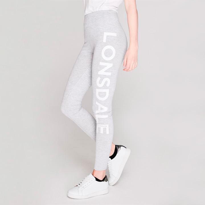 Леггинсы Lonsdale Ladies Grey Marl