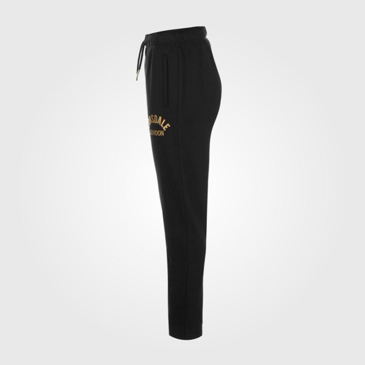 Спортивные штаны Lonsdale Slim Open Hem Joggers Ladies Black
