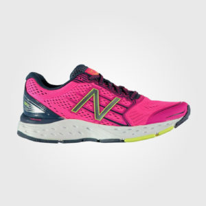 Кроссовки New Balance 680 v5 Ladies Running Shoes  Pink/Grey