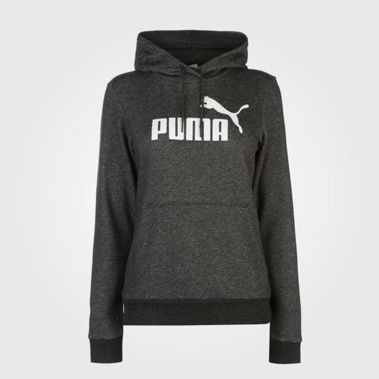 Толстовка женская Puma No1 Logo Dark Grey