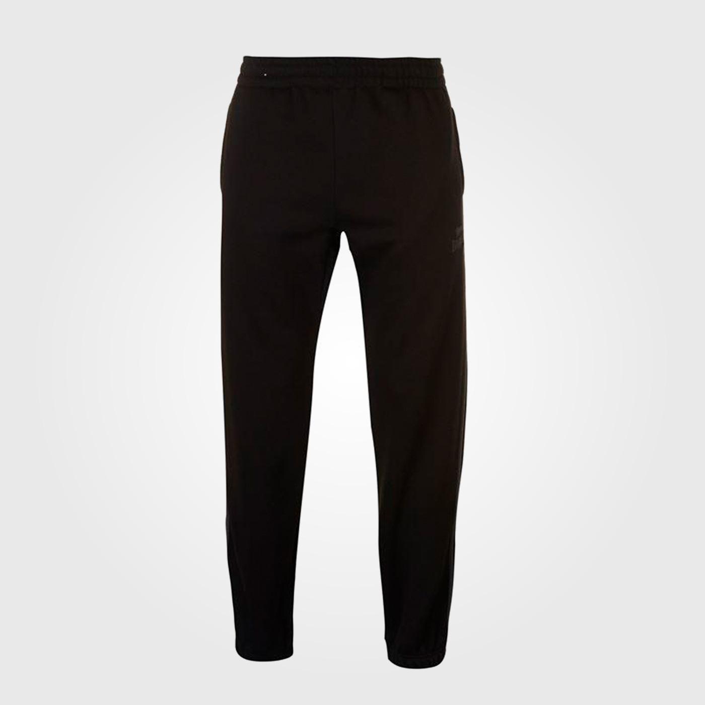 Спортивные штаны Lonsdale 2 Stripe Jogging Mens Black/Charcoal