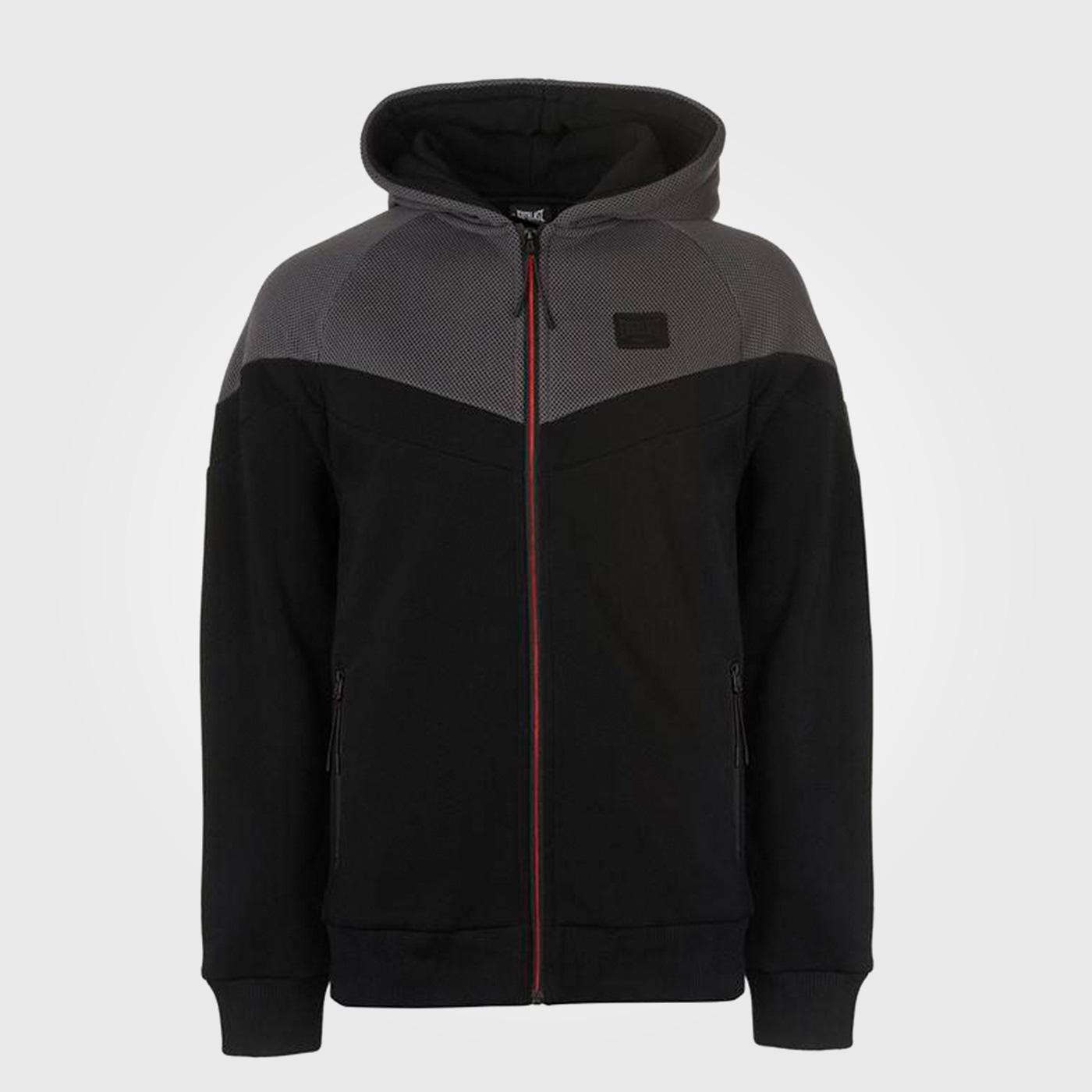 Толстовка Everlast Premium Zipped Mens Black