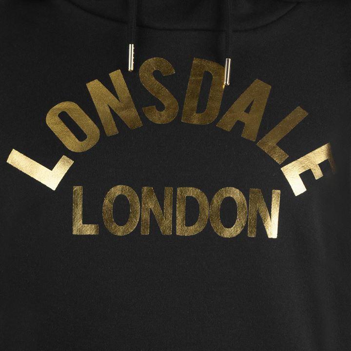 Толстовка Lonsdale OTH Hoodie Ladies Black