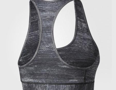 Бюстгальтер женский Adidas Tech Fit Black Heather