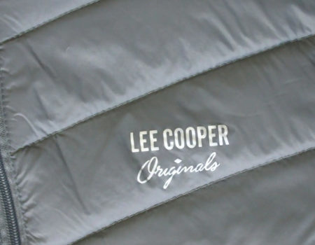 Куртка Lee Cooper Xlite Hooded Down Mens Charcoal