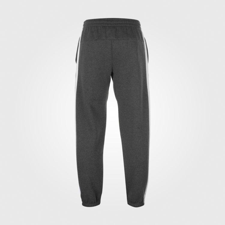Спортивные штаны Lonsdale 2 Stripe Jogging Mens Charcoal/Whit