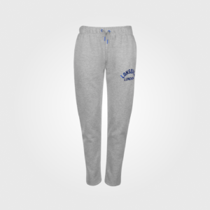 Спортивные штаны Lonsdale Slim Open Hem Ladies Grey Marl