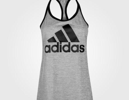Майка женская Adidas HI5 Logo Grey/Black