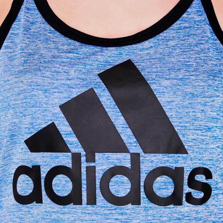 Майка Adidas HI5 Logo Ladies Hi Res Blue