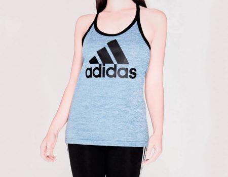 Майка женская Adidas HI5 Logo Hi Res Blue