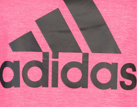 Майка женская Adidas HI5 Logo Real Pink