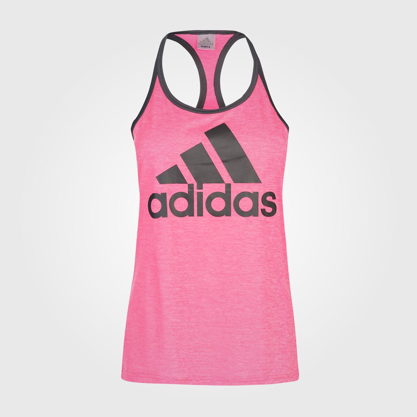 Майка Adidas HI5 Logo Ladies Real Pink