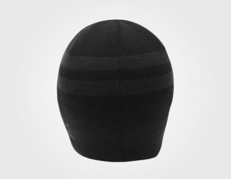 Шапка Lonsdale 2 Stripe Hat Mens Black