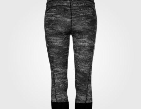 Спортивные штаны женские Adidas Tech Fit Capri Black Heather