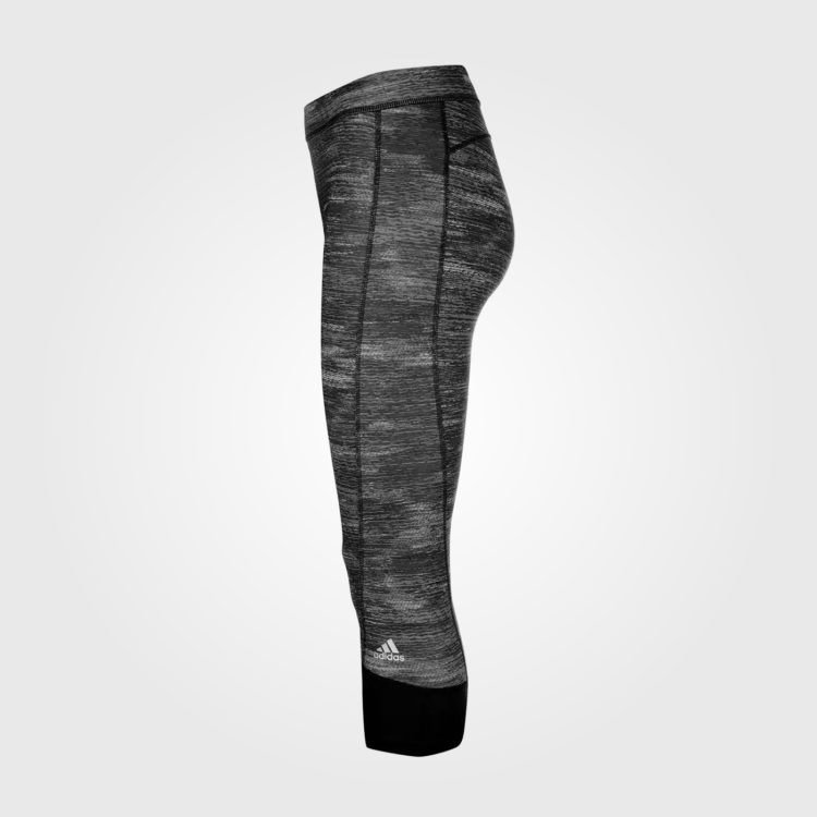 Спортивные штаны женские Adidas Tech Fit Capri Black Heather