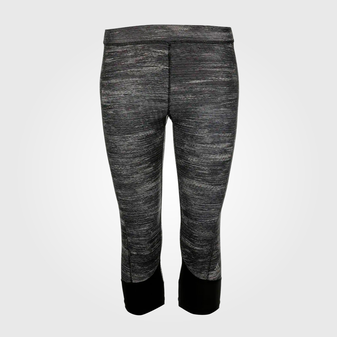 Спортивные штаны Adidas Tech Fit Capri Ladies Black Heather