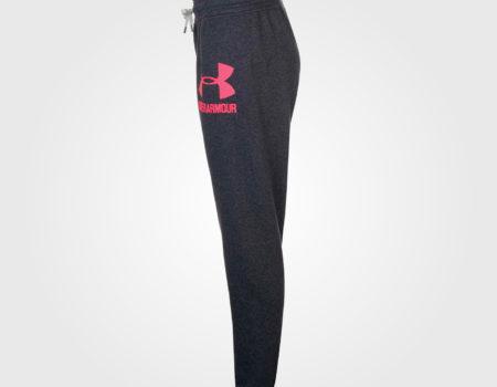 Спортивные штаны женские Under Armour Logo Carbon/Pink