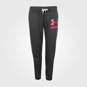 Спортивные штаны Under Armour Logo Ladies Carbon/Pink
