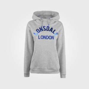 Толстовка Lonsdale OTH Ladies Grey Marl