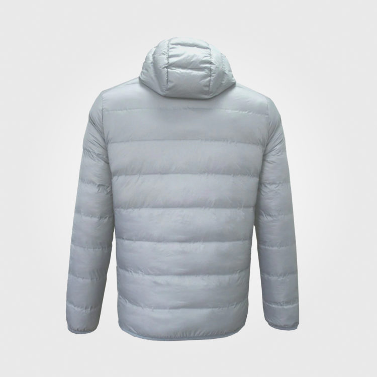 Куртка Lee Cooper Xlite Hooded Down Mens Grey