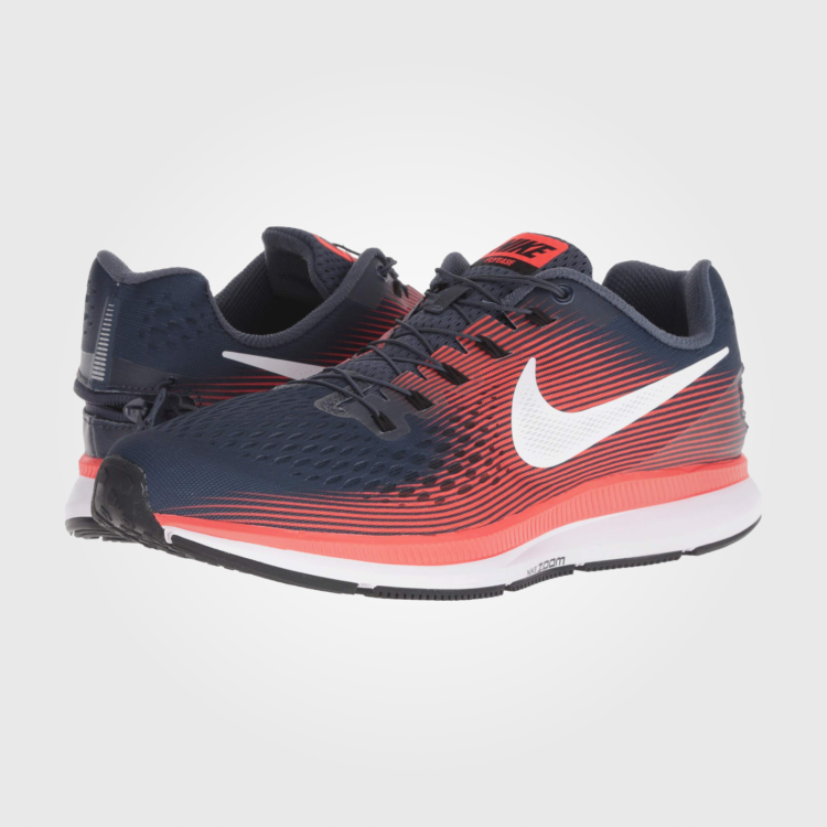 Кроссовки Nike Air Zoom Pegasus 34 FlyEase Thunder Blue/White/Bright Crimson/Black
