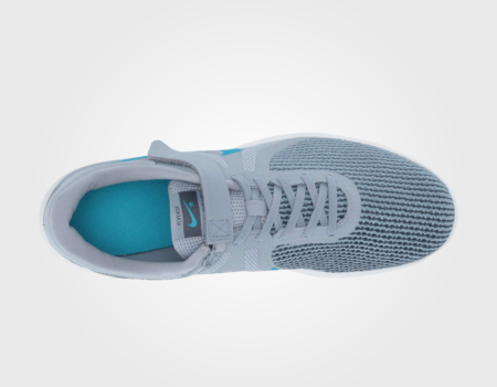 Кроссовки Nike FlyEase Revolution 4 Obsidian Mist/Blue Lagoon/Monsoon Blue