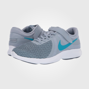 Кроссовки Nike FlyEase Revolution 4 Obsidian Mist/Blue Lagoon/Monsoon Blue