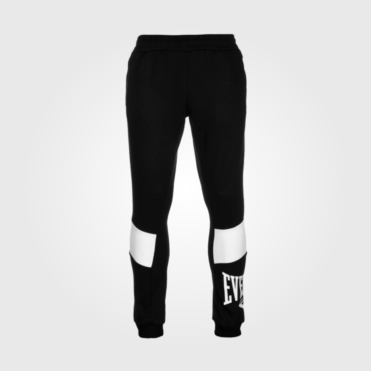 Спортивные штаны Everlast Closed Hem Jogging Bottoms Black/White