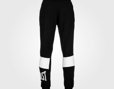 Спортивные штаны Everlast Closed Hem Jogging Bottoms Black/White