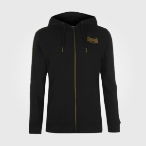 Толстовка Lonsdale MTK Zip Mens Black/Gold