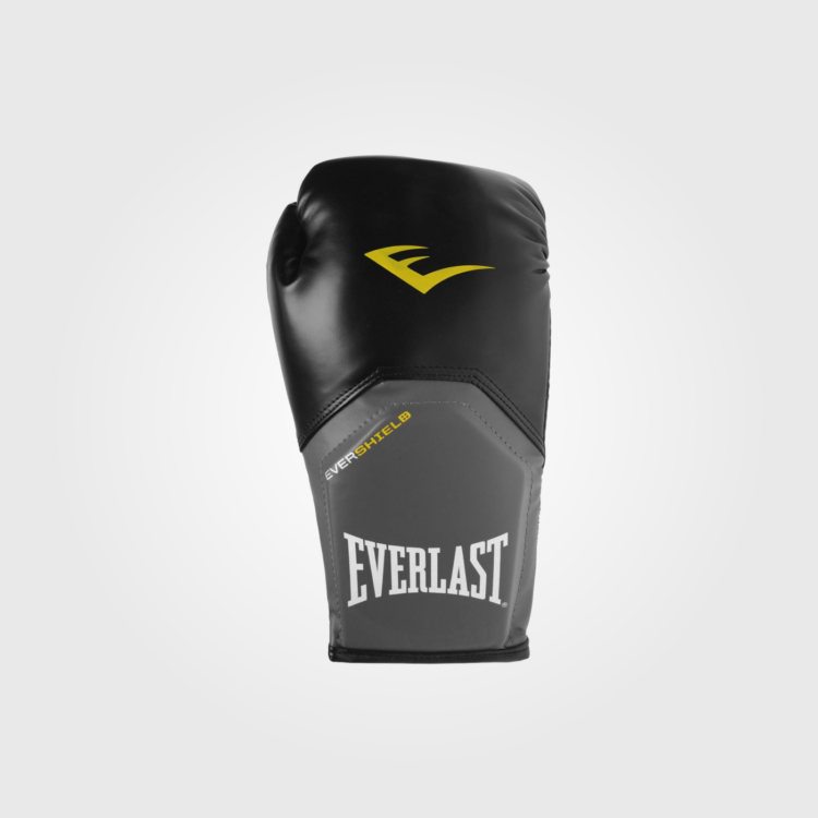 Боксерские перчатки Everlast Elite Training Black/Grey