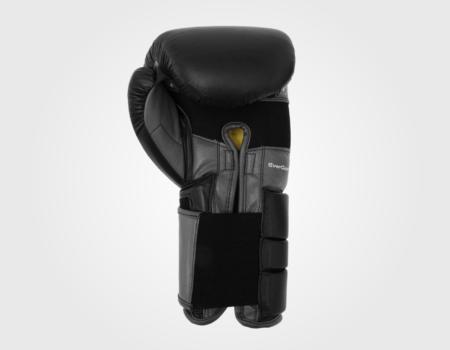 Боксерские перчатки Everlast Leather Pro 3 Black